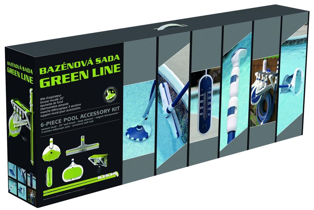 Комплект пылесоса Mountfield Green Line для бассейнов Azuro / Ibiza (6 предметов), арт. 3BVZ0199
